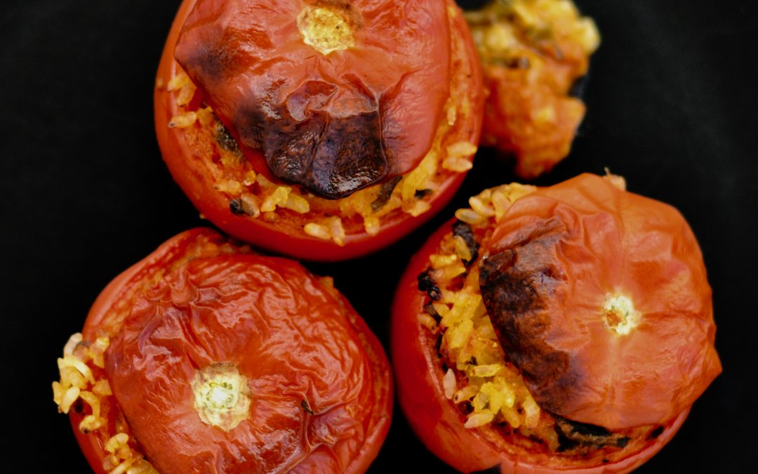 Pomodori al Riso: Roman style tomatoes