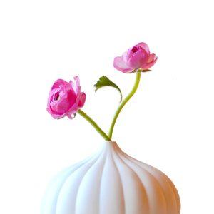 textured decorative ceramic bud vase