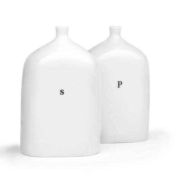 porcelain vials salt and pepper set
