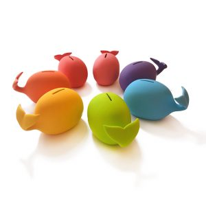 whale piggy bank for kids