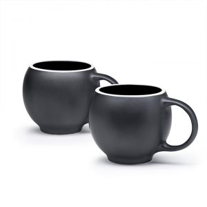 EVA teacups black