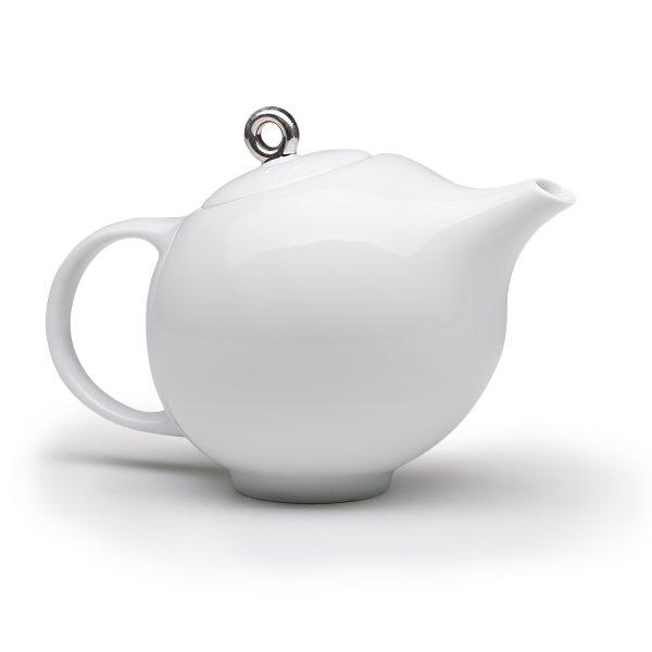 Eva teapot white
